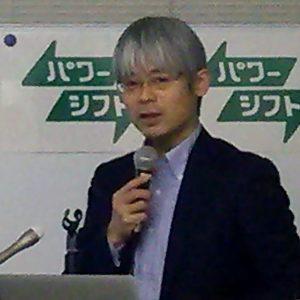 託送料金での回収の問題点を説明する大島堅一教授