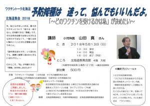 2018北海道集会5月ちらしのサムネイル