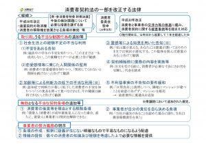(政府案)消費者契約法改正法案(新旧対照表)のサムネイル